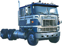 Lorry without trailer